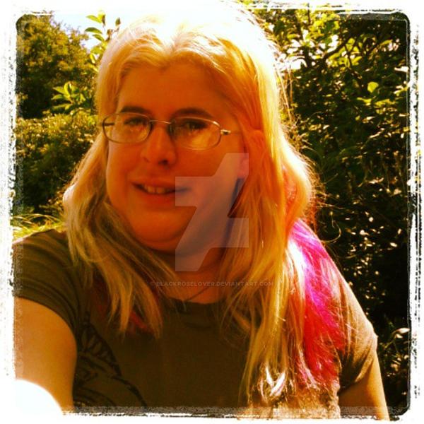 me my new hair 2 by blackroselover