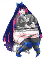 BBW  Panty and Stocking (Stocking) by morugen