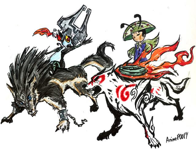 Link vs Amaterasu by AnimePOOPY on DeviantArt