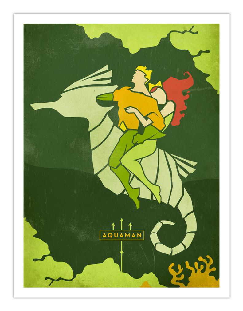 Aquaman and Mera by daabcreative