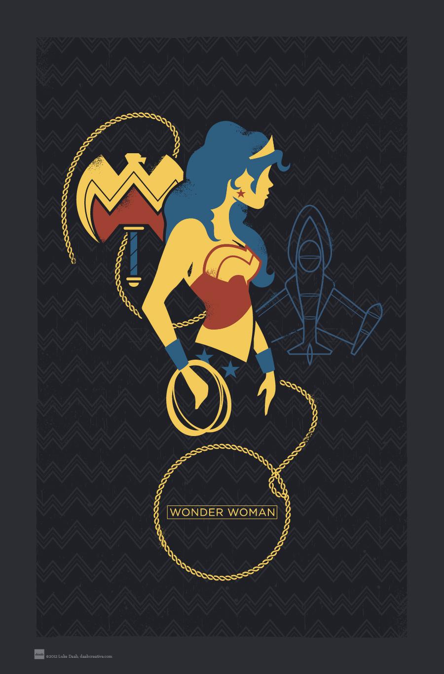 Hero Profiles: Wonder Woman by daabcreative