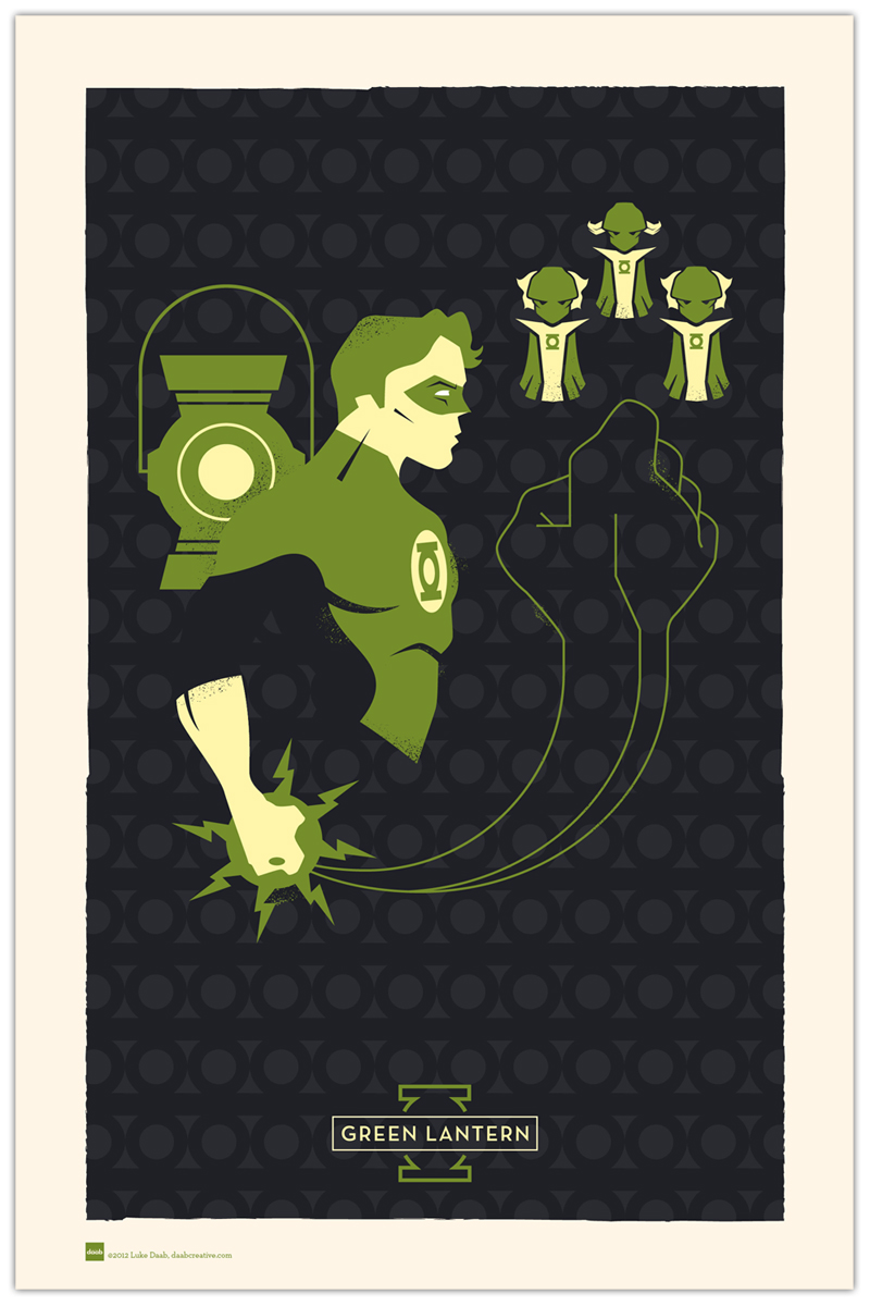 Hero Profiles: Green Lantern by daabcreative