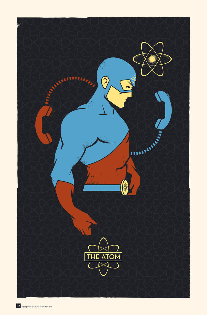 DC Hero Profiles: The Atom by daabcreative