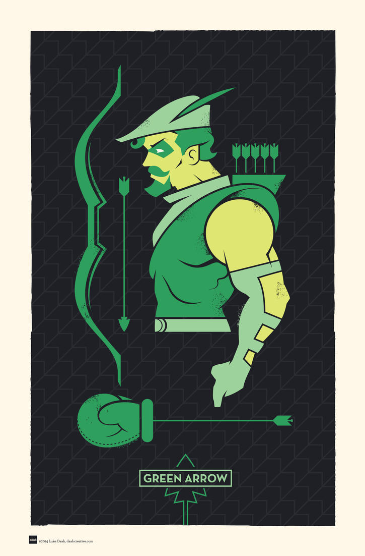 DC Hero Profiles: Green Arrow by daabcreative