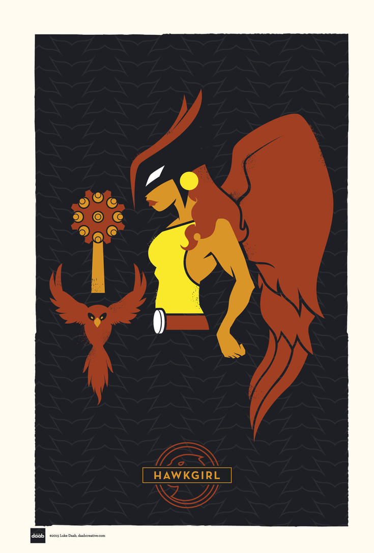 DC Superhero Profiles: Hawkgirl by daabcreative