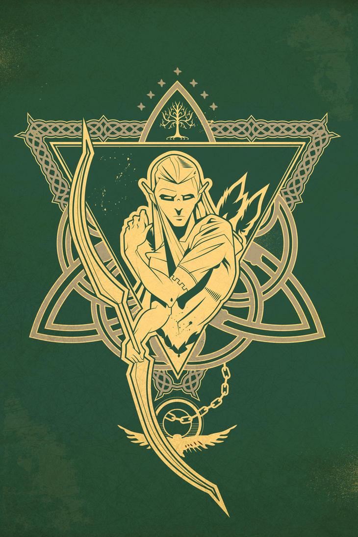 Legolas Poster by daabcreative