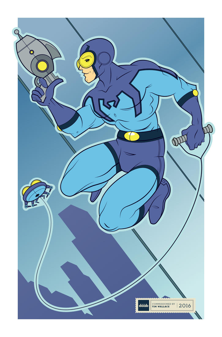 Blue Beetle Commission by daabcreative
