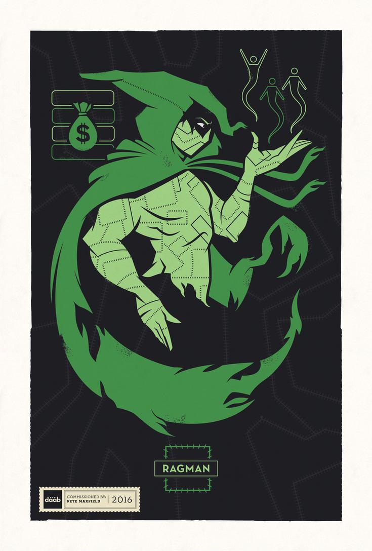 DC Superhero Profiles: Ragman by daabcreative