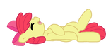 Applebloom is a cutie by Mieuun