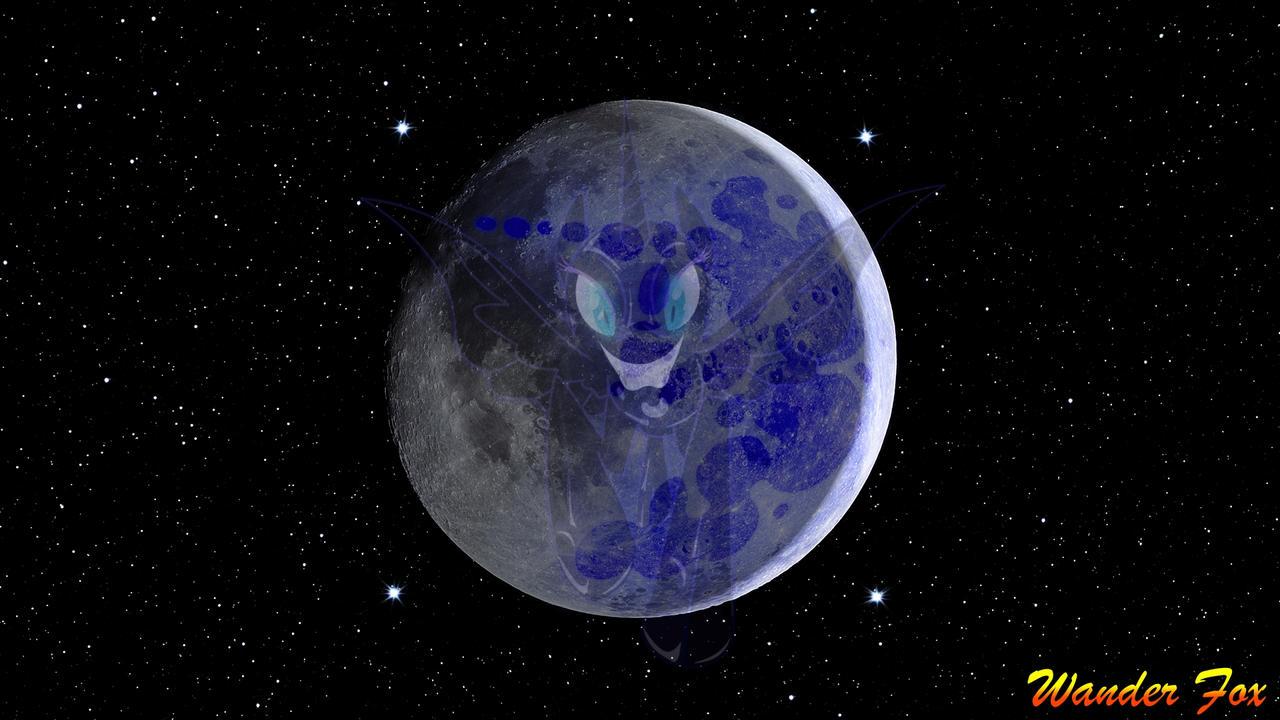 005 NightMare Moon on Moon