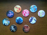 My Little Pony Buttons