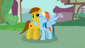 Ajdrianpony and Dashie