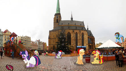 Christmas Pilsen Pony Meetings