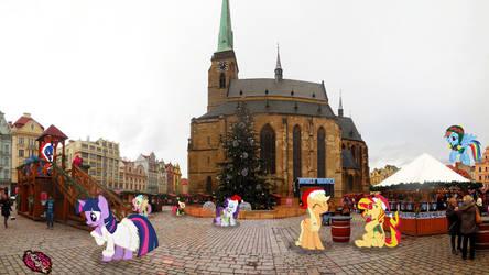 Christmas Pilsen Pony Meetings by WanderFoxCz