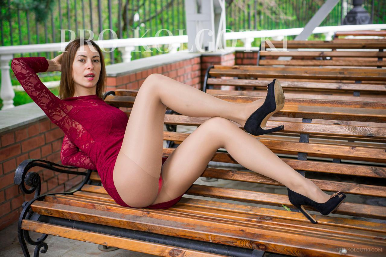 Jenniffer's Red Laced Dress By Pro-kolgotki On DeviantArt