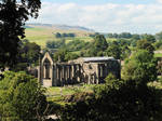 Bolton Priory: nature and building forming beauty