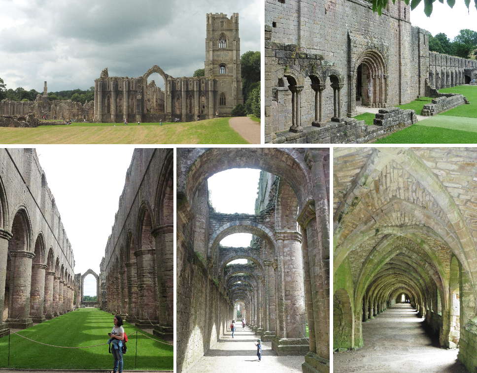 Fountains Abbey - Yorkshire, England by ahappierlife