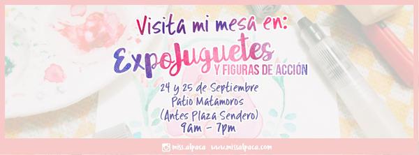 Facebook Header - Expo Juguetes by miss-alpaca