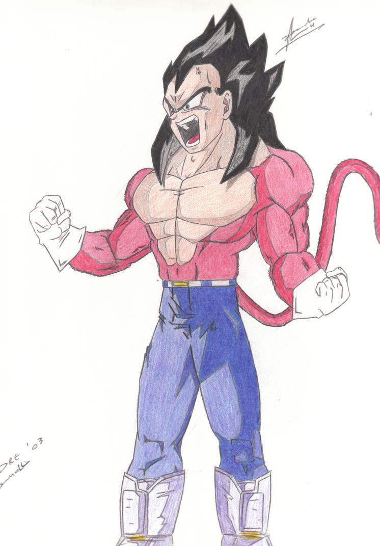 Super Saiyan 4 Drawings Super Saiyan 4...746