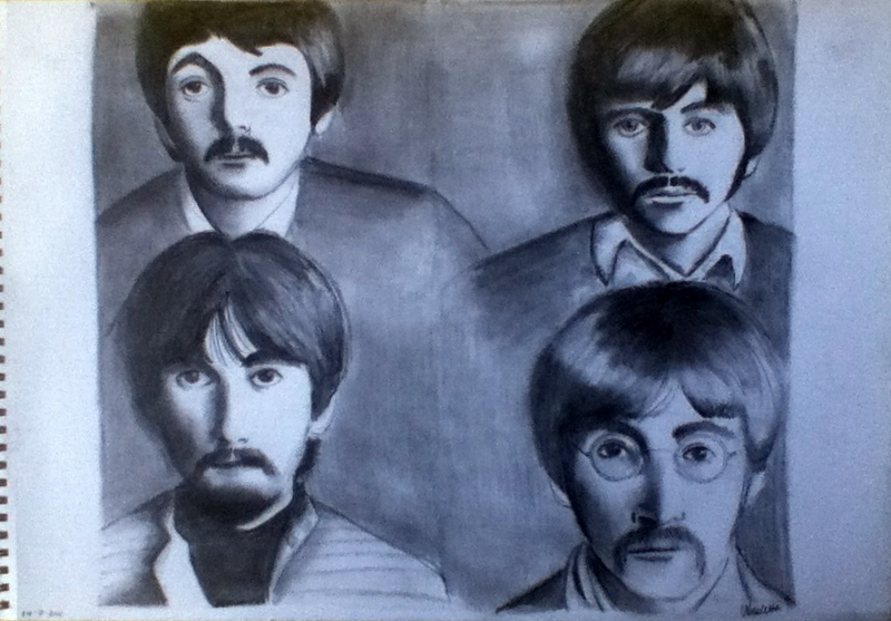 The Beatles by idliketobeapanda