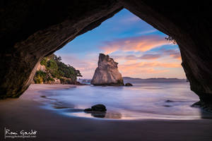 Cathedral Cove by RemiGardet