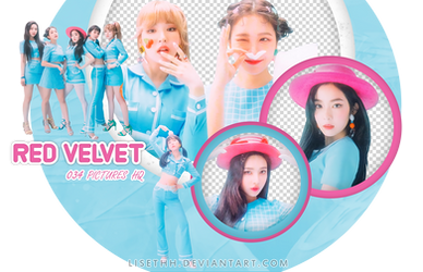 PACK PNG #32 // RED VELVET |#CookieJar by Lisethh