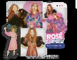 PACK PNG #43 // ROSE X LISA|BLACKPINK|DAZED|