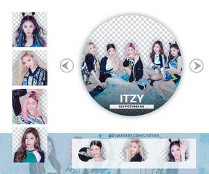 PACK PNG #70 ITZY IT'Z ICY  by Lisethh