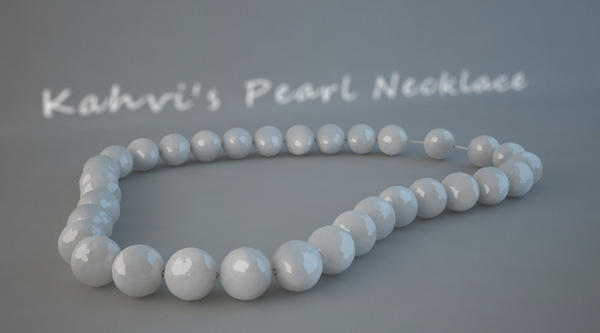 Kahvi's Pearl Necklace by kahvi