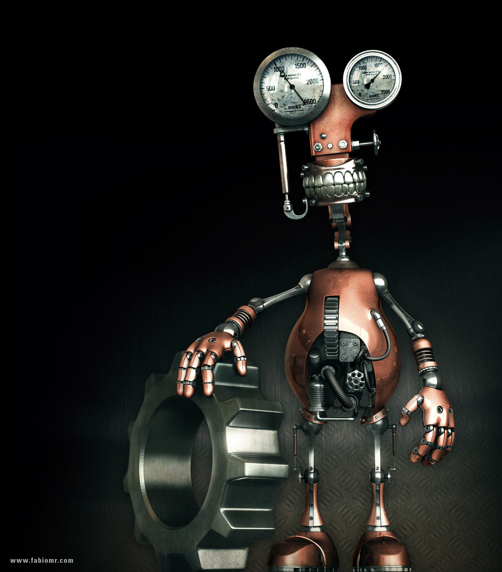 Robot by fabioragonha on DeviantArt