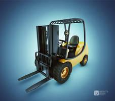 Forklift Truck by fabioragonha