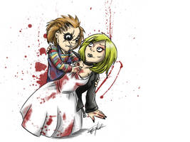 Chucky and Tiff by GakiRules