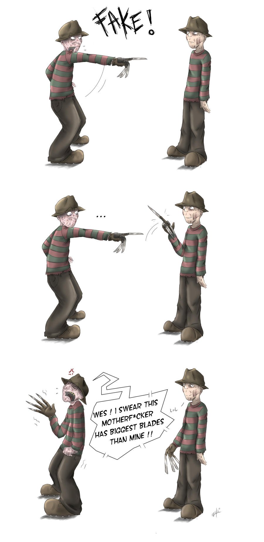 freddy vs .... freddy by GakiRules