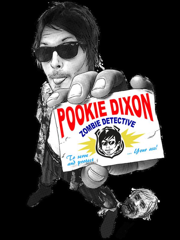 Pookie Dixon: Zombie Detective by GakiRules
