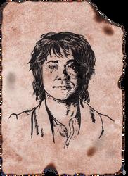 Bilbo's Portrait by GakiRules