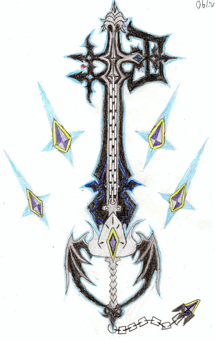 Oathkeeper And Oblivion Keyblades Ultimate By Leon259