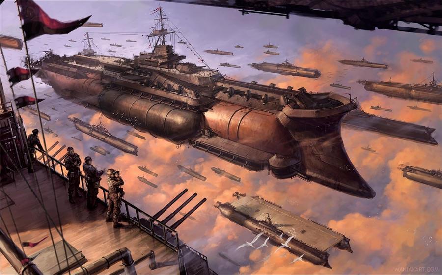 Rahmos fleet by ManiakS