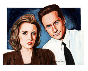 Scully and Molder