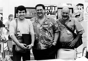 With Scott Shaw by Profesor-Dathu