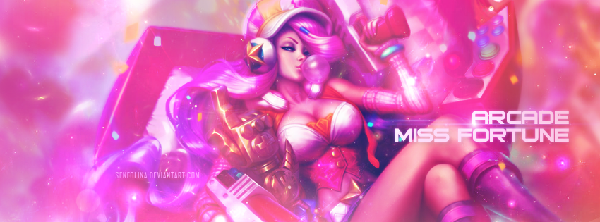 Arcade Miss Fortune by Senfolina