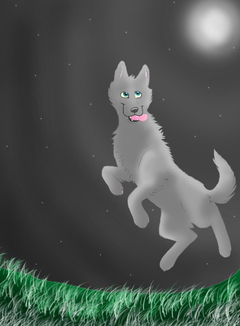 Moon by Wolf-fairi
