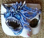 Icy Demon Eye Mask
