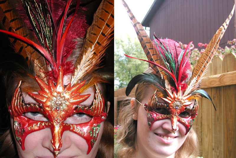Phoenix Mask by Namingway