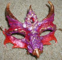 Sunset Dragon Mask by Namingway