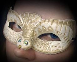 Platinum Owl Mask by Namingway