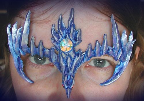 Ice Hawk Mask by Namingway