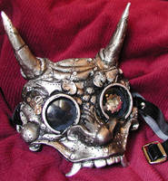 Steampunk Oni Goggles by Namingway