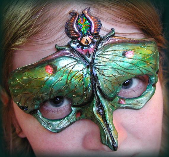 Luna Moth Mask by Namingway