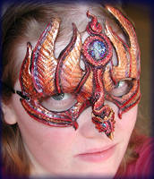 Fire Dragon Mask by Namingway
