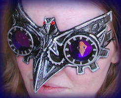 Steampunk Crow Goggles by Namingway
